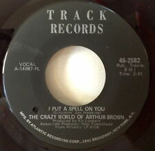 Crazy World Of Arthur Brown 1968 I Put A Spell On You Track 2582 Rare NOS DH NM
