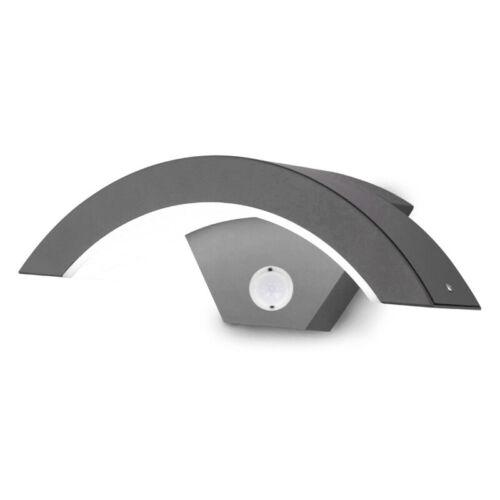 Outdoor 18W LED Wall Light Fixture Detector PIR Motion Sensor Night Lamp Steps