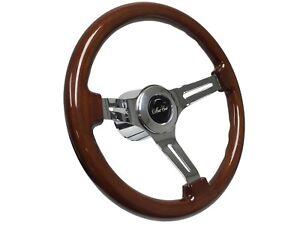 1970-1988-Monte-Carlo-S6-Sport-Mahogany-Finish-Wood-Steering-Wheel-Covert-Kit