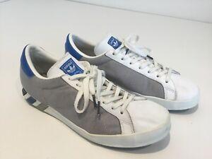 Details zu Mens Vintage Retro Adidas Trainers Sneakers Uk842 White Silver Home'sfils Cas