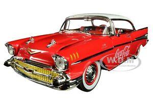 1957-CHEVROLET-BEL-AIR-HARDTOP-034-COCA-COLA-034-RED-1-24-DIECAST-CAR-BY-M2-50300-RW03