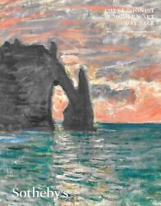 Sotheby's Impressionist Modern Art Day LARGE Auction Catalog November 2019