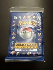 Pokemon 1998 2-Player Demo Game Pack E3 - RARE