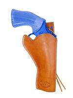 Barsony Tan Leather 49-er Style Gun Holster For Llama 4 Revolvers