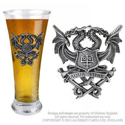 Alchemy Gothic Glass Bicchiere Aqua Vitae Official Merchandise