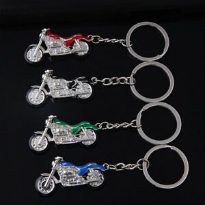 3D-Colorful-Motorcycle-Solid-Keychain-KeyRing-Metal-Pendant-Gift-Metal-Present