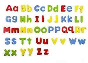 Magnetic Letters Childrens Lower Case Kids Alphabet Magnets 52 Fridge Spelling