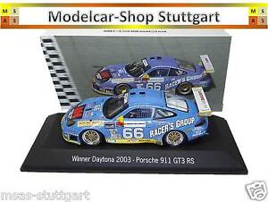 Porsche-911-GT3-RS-66-Gagnant-Daytona-2003-Spark-1-43-MAP02030314-neuf