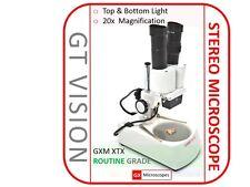 Gx Microscopios 20x - 120x Binocular Iluminado estéreo Microscopio, Ideal Regalo