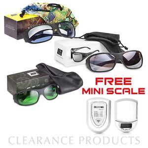 Method Seven Operator LED, HPS PLUS, MH PLUS Grow Light Glasses + FREE Scale