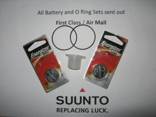 Vytec grease 2 Energizer battery /& O-ring Kit Suunto Vyper Gekko,Zoop /& HelO2