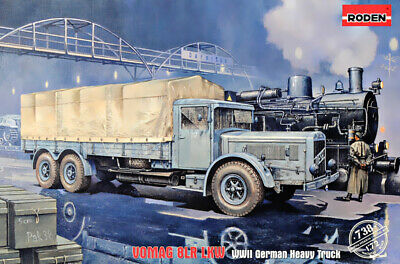 RODEN® #733 FWD Model B 3 ton Lorry in 1:72