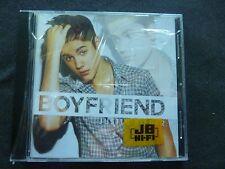 JUSTIN BIEBER BOYFRIEND ULTRA RARE NEW SEALED AUSTRALIAN CD SINGLE!