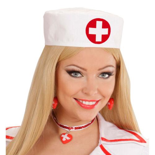 Krankenschwester Haube Schwesternhaube Schwester Hut Ärztin Häubchen OP Mütze