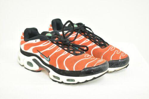 Nike Air Max TN Mens Size 8 Team Orange Green Whit