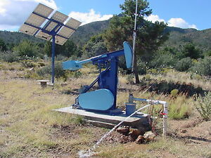 Solar Pumping Unit Jack Type Deep Well Alternative Works