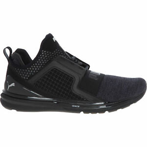 PUMA-Men-039-s-IGNITE-LIMITLESS-KNIT-Trainers-Black-UK-9-10-RRP-95