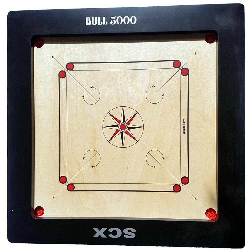 BULL 5000 5000 5000 20MM CARROM BOARD GAME FULL SIZE CHU_0386 88c177
