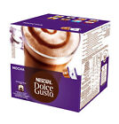 Nescafe Dolce Gusto Pods 3 Boxes of 16 Capsules Coffee Latte and More Mocha