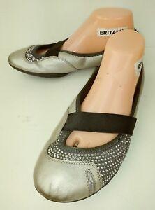 56822785007b Clarks Natural Movement Womens Shoes Flats US 9 metallic Gray ...