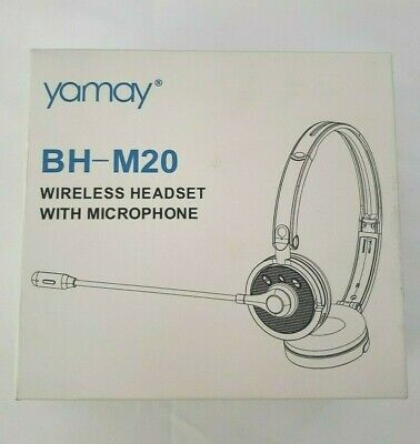Yamay Wireless Headset With Microphone Bh M20 Ebay