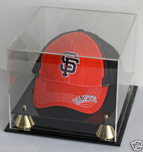 b05fe8b0ccf Image is loading DisplayGifts-Acrylic-Baseball-Cap-Hat-Display-Case-Stand-
