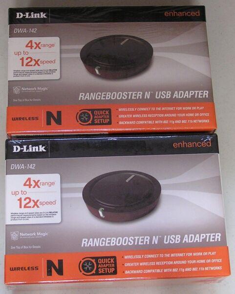 D-Link DWA-142 WiFi 64 Bit
