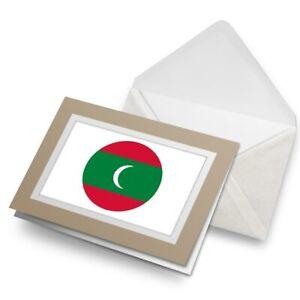 Greetings-Card-Biege-Maldives-South-Asia-Male-9107