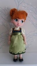 "Disney Store Anna Animator Doll 15"", Frozen, complete with shoes!"