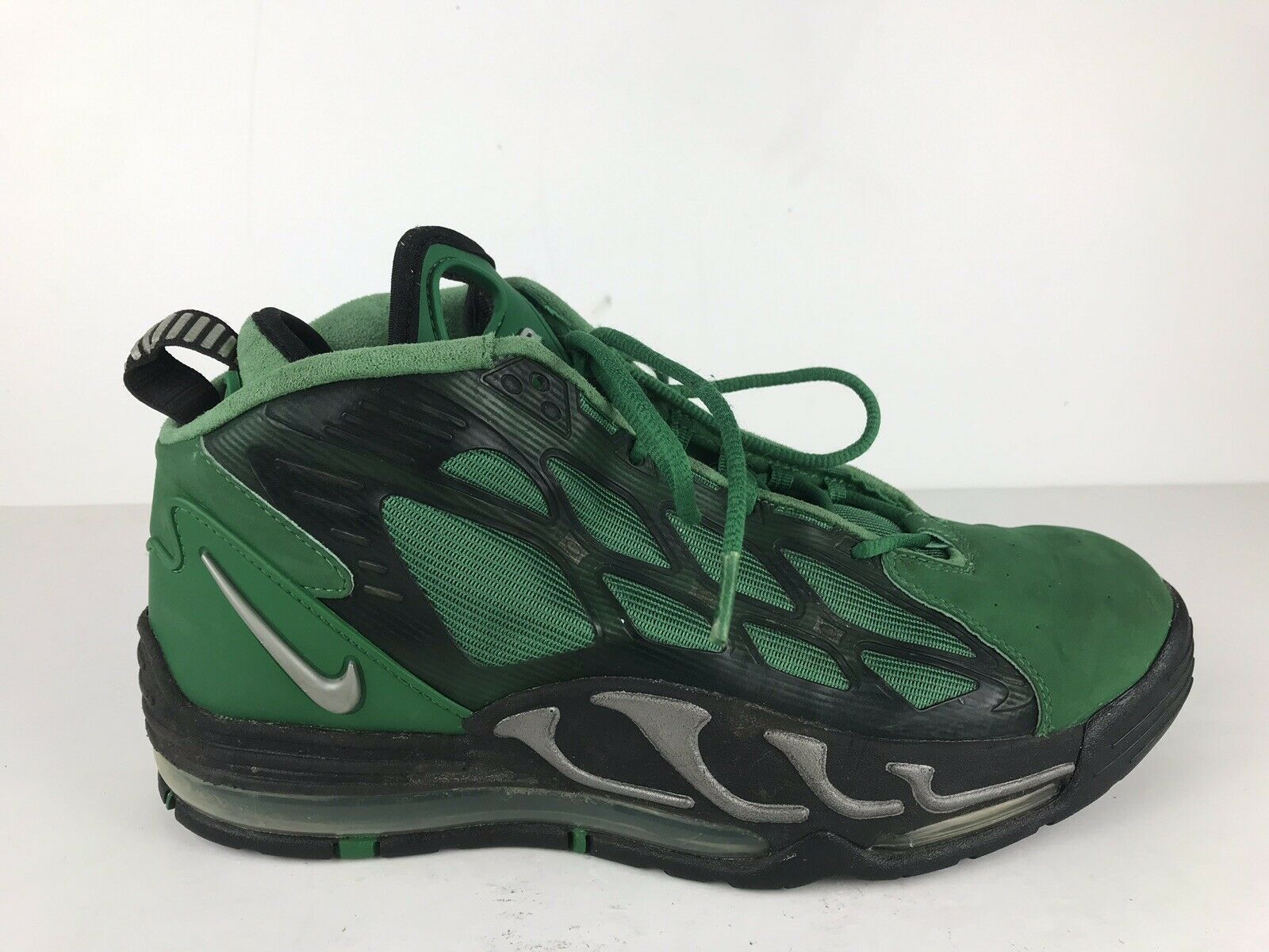 RARE Nike Air Max Men's US 11 Pillar Green 525226-300 Retro Vick Bo No Insoles