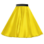 Girls-SATIN-Rock-n-Roll-Skirt-UK-1950s-Costume-Grease-Fancy-dress-ROCKABILLY thumbnail 4