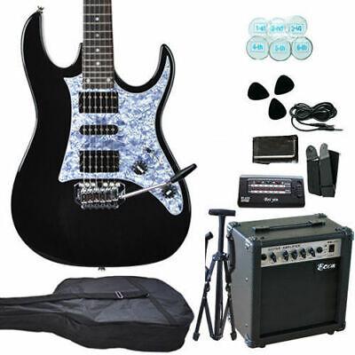 new quality electric guitar with guitar tuner bag pickup amp set ebay. Black Bedroom Furniture Sets. Home Design Ideas