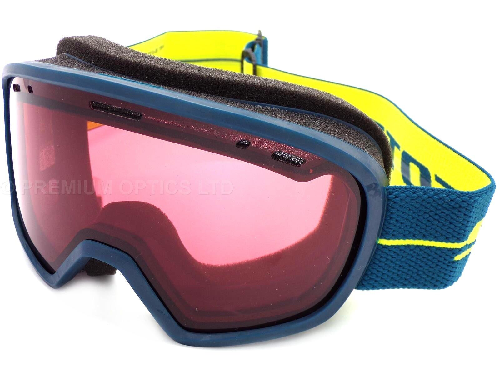 SCOTT - MUSE  women's ski snow Goggles bluee Yellow   Enhancer CAT-2 Lens 267609  60% off
