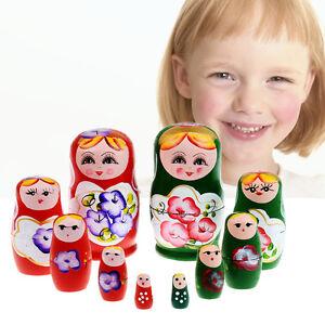 5pcs-Set-Matryoshka-Russian-Nesting-Dolls-Toy-Wooden-Doll-Babushka-Hand-Painted