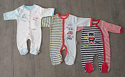 100% QualitäT Pitter Patter Englandmode Baby Schlafanzug Strampler Overall Gr.56/62-62/68, Neu