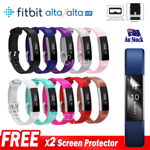Replacement-Band-Fitbit-Alta-HR-Silicone-Wrist-Watch-Band-Secure-Buckle