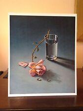 ORIGINAL RARE Tretchikoff Weeping Rose 1969 Vintage Kitsch Art Print