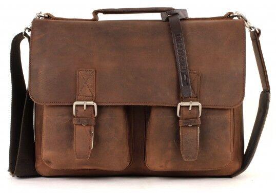 LEONHARD LEONHARD LEONHARD HEYDEN Sac À Bandoulière Salisbury Briefcase S Brown d2d63e