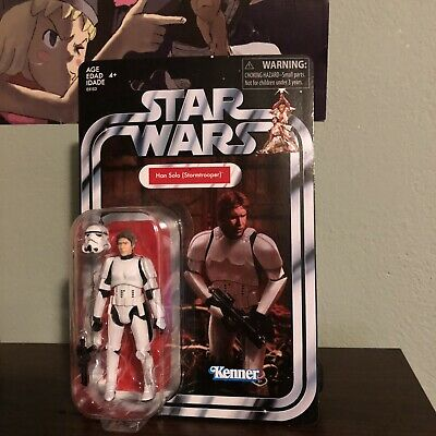 STAR Wars Vintage Collection Han Solo Stormtrooper Figura NUOVO RARO