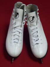 Ladies SFR Galaxy White Ice Skates, Size 6, EU 39.5.