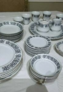 SALE. 41 Pcs. VTG Towne House Isabella Fine China. Made in Japan. 3277. EUC.
