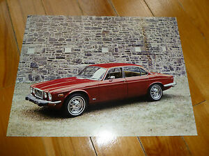 JAGUAR-XJ12L-1973-1974-1975-BROCHURE-DOCUMENT-ORIGINAL-VINTAGE-DEALER-LEYLAND