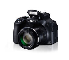Canon PowerShot SX60 HS 16.1MP Digital Camera - Black