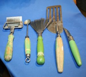 Image Is Loading Five Old Kitchen Utensils