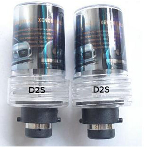 D2S 6000K HID Xenon Light 2Replacement Headlight BULBS Set 12V 35W 6K Cool White