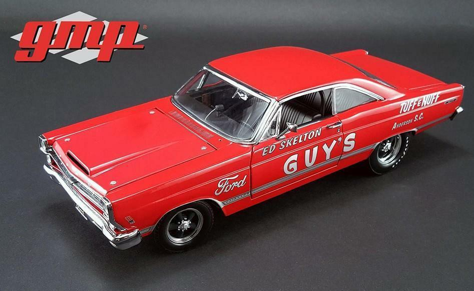 GMP 1 18 Ed Skelton 1967 FORD FAIRLANE Tuff E Nuff Diecast Voiture Modèle Rouge 18846