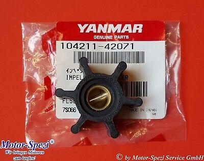 ersetzt 104211-42071 Impeller passt für Yanmar 2GM und 3GM