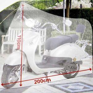 Telo-Coprimoto-Copri-Moto-Bici-Scooter-Bicicletta-110x200cm-Bianco-Impermeabile