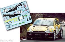 Decal 1:43 Enrico Bertone - FORD FOCUS WRC - Rally Canarias El Corte Ingles 2002