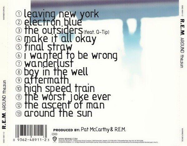 R.E.M: around the sun, rock